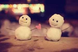 صور حب من الثلج