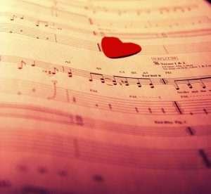 صور معزوفة موسيقية حب