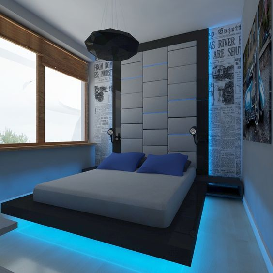 - Cool rooms for guys ...