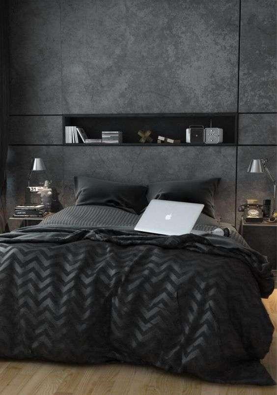 صورة ديكورات غرف نوم شبابية , صور ديكورات غرف النوم للشباب والرجال