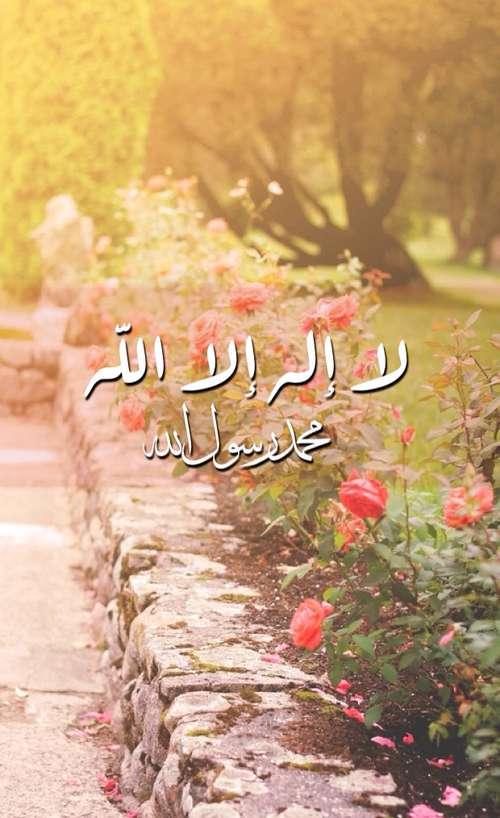 لا إله الا الله محمد رسول الله
