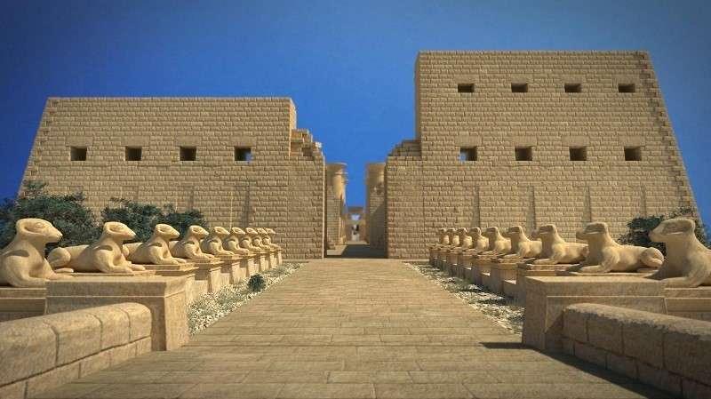 صورة شرح معبد الكرنك , بحث عن معبد الكرنك