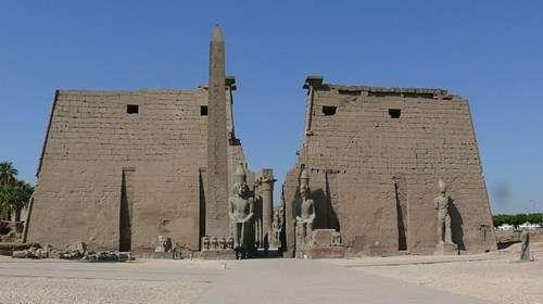 صورة معبد الاقصر , شرح معبد الاقصر بالتفصيل
