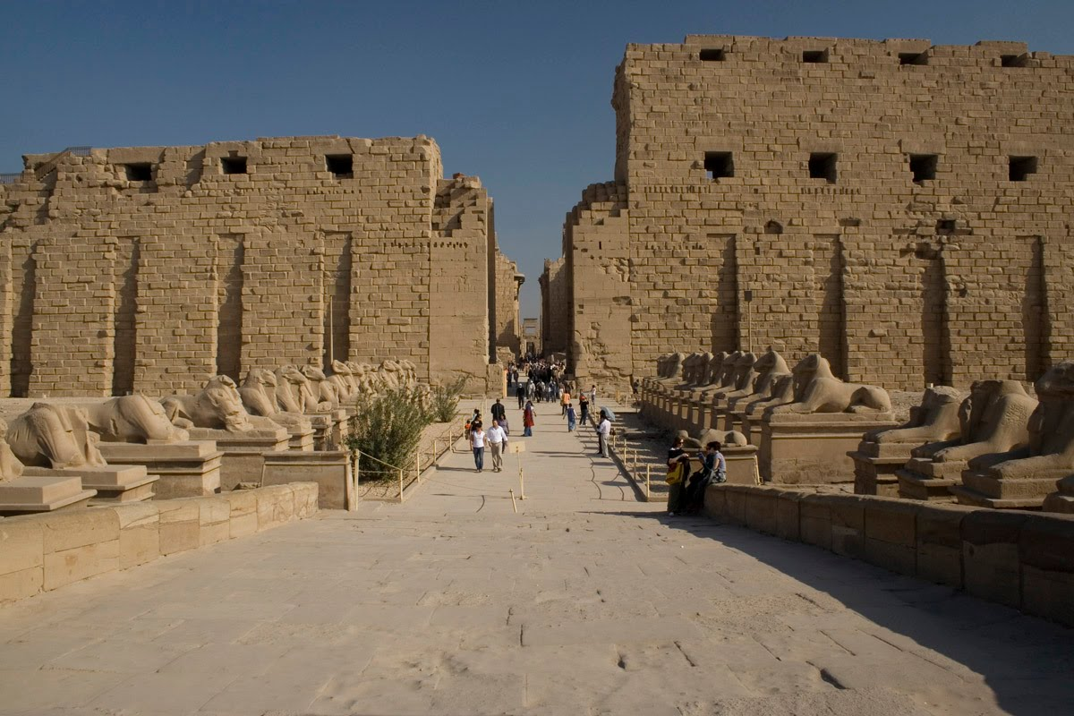 صورة معلومات عن معبد الكرنك , شرح معبد الكرنك بالتفصيل