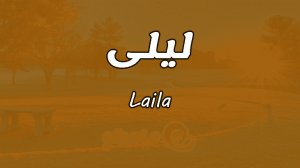معني اسم ليلى