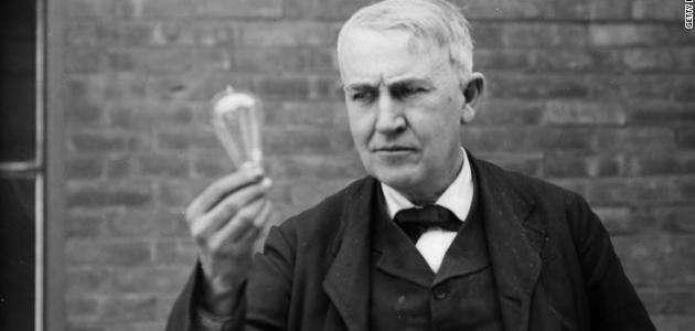صورة معلومات عن مخترع الكهرباء توماس إديسون