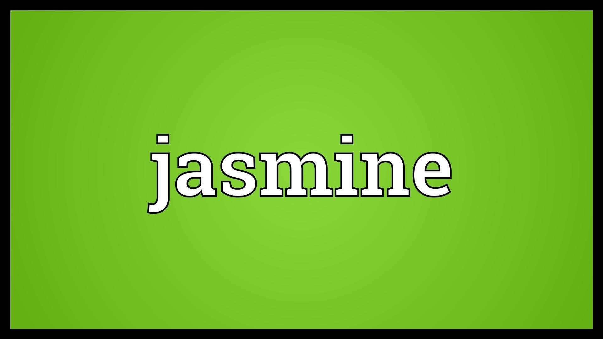 صورة معنى اسم جاسمين , صفات حاملة اسم جاسمين