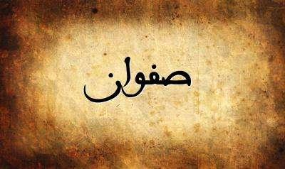 صورة معنى اسم صفوان | صفات اسم صفوان