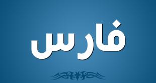معنى اسم فارس