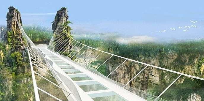 أطول جسر زجاجي