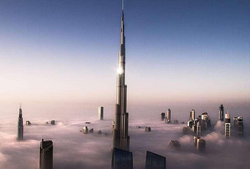 صورة أطول برج في العالم