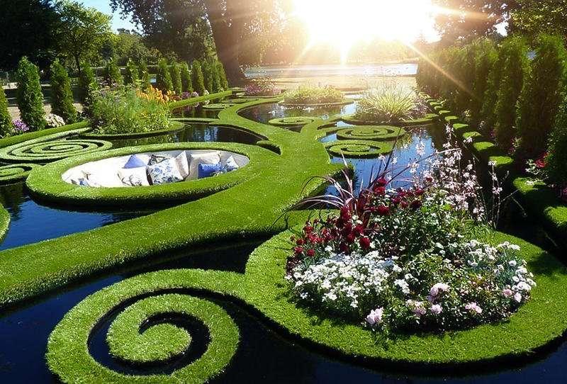 الحدائق حول العالم
