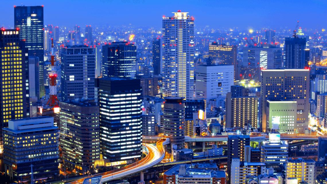 صورة جولة سياحية في مدينة اوساكا اليابانية