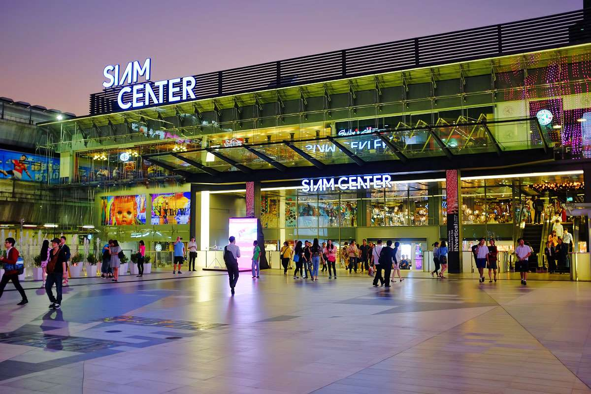 صورة مراكز التسوق في بانكوك