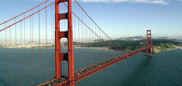 صورة جسر سان فرانسيسكو سادس أطول جسر في العالم