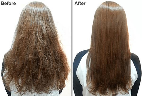 صورة تجربتي مع بروتين الشعر