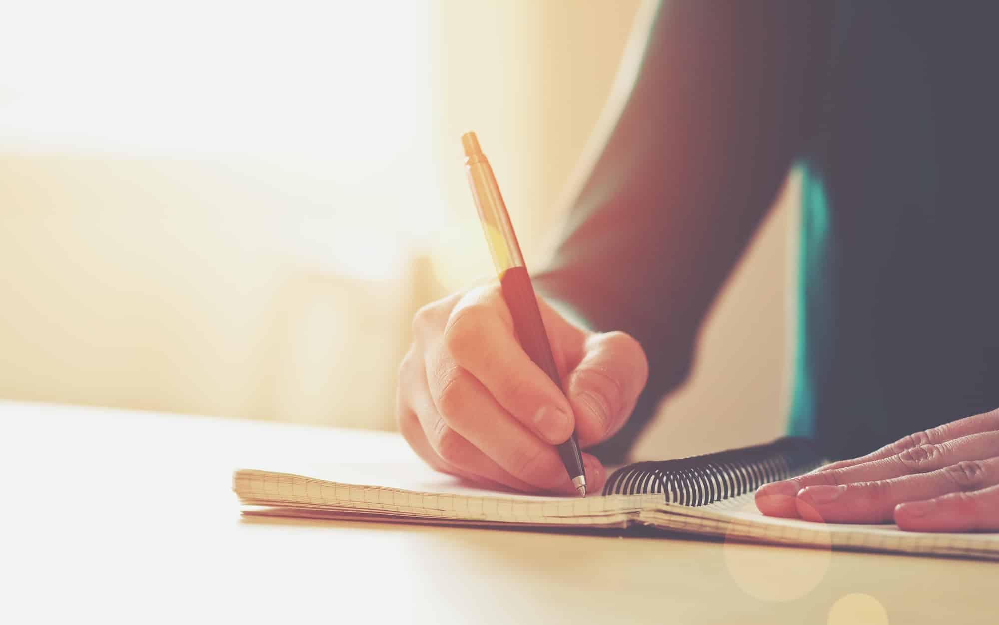 كتابة موضوع تعبير
