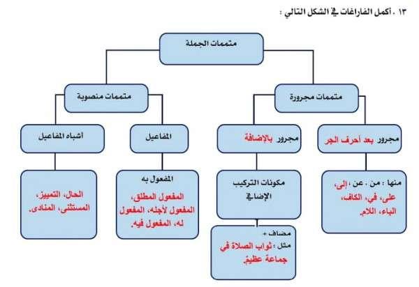 المتممات المنصوبة موقع حصرى